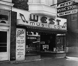 First West Music store