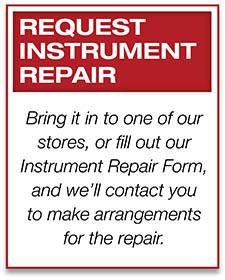 request instrument repair