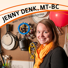 Extraordinary Associate of the Month February 2016: Jenny Denk MT-BC