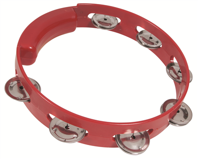 "BASIC BEAT BBT08 8"" HEADLESS TAMBOURINE"