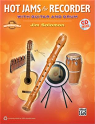 HOT JAMS FOR RECORDER WITH GUITAR AND DRUM