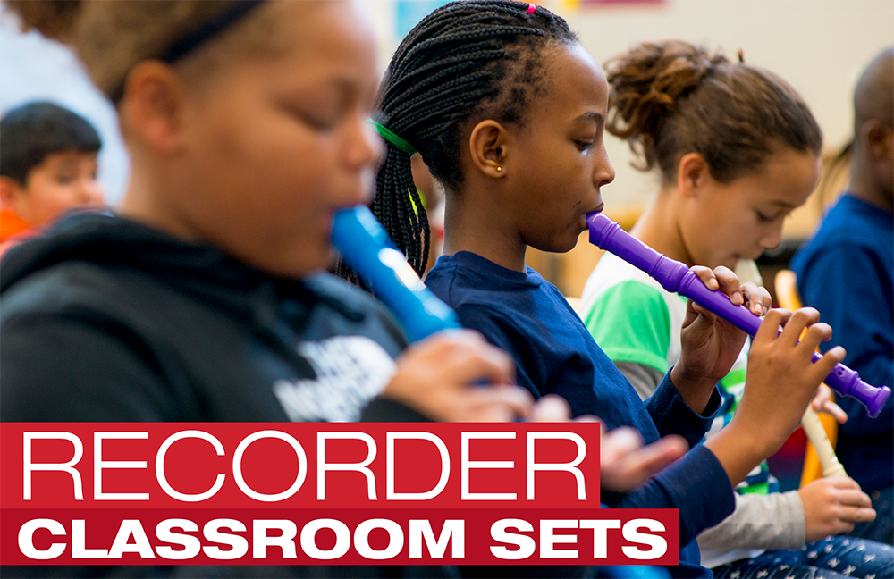 Recorder Classroom Sets – Buy in Bulk and Save!