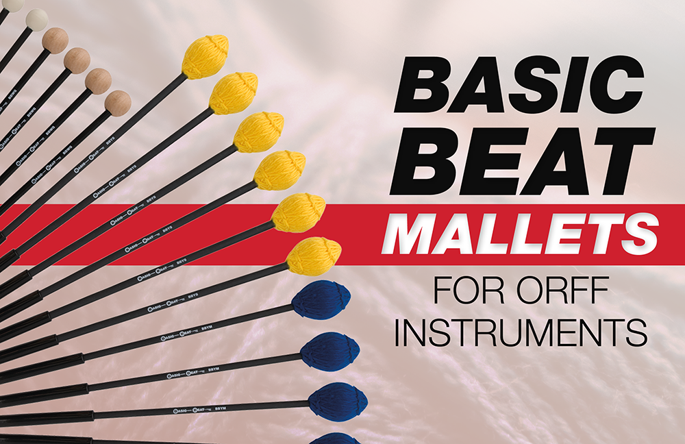 Basic Beat Mallets for Orff Instruments