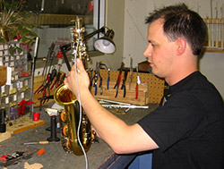 band and string instrument repair