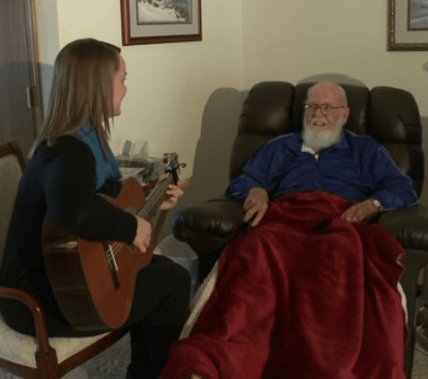 Music Therapy Provides Comfort for Patients