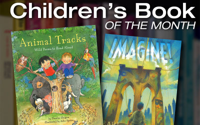 Children's Book of the Month: Animal Tracks and Imagine!