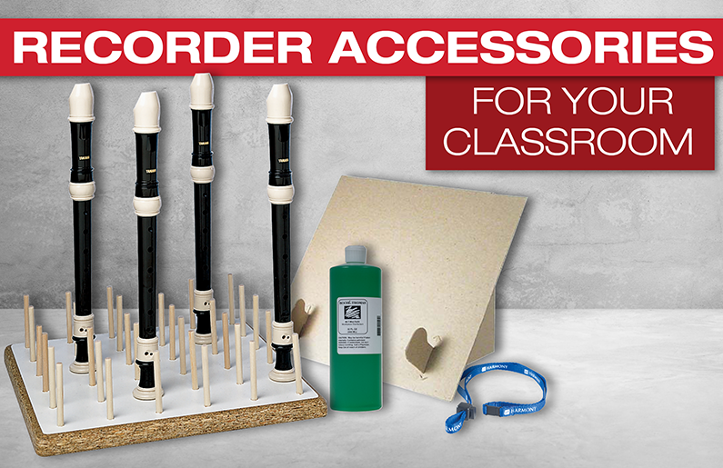 Recorder Accessories for Your Classroom