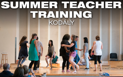 Summer Teacher Training: Kodaly