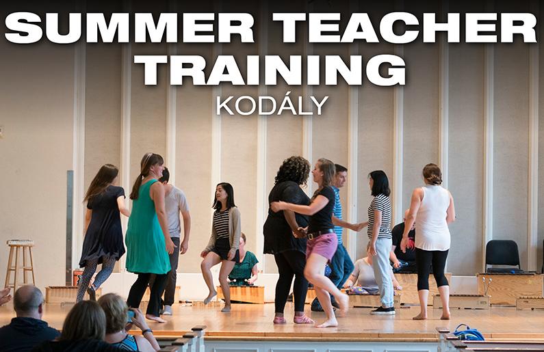 Summer Teacher Training: Kodaly