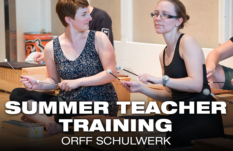 Summer Teacher Training: Orff Schulwerk