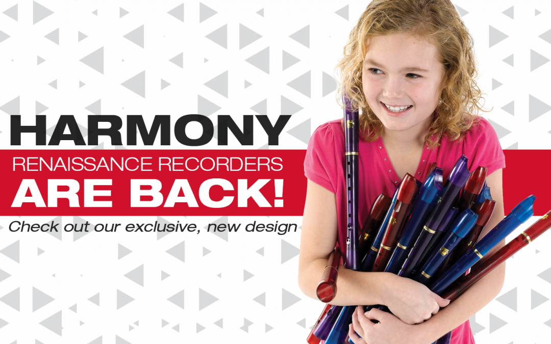 Renaissance Recorders – Exclusive Design from Harmony Recorders
