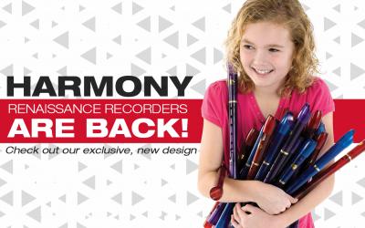 Renaissance Recorders – Exclusive Design from Harmony Recorders