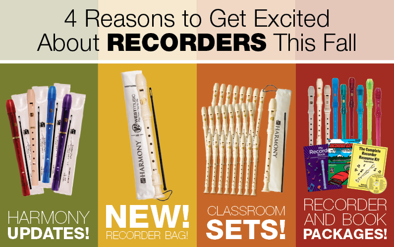 4 Reasons to Get Excited About Recorders This Fall
