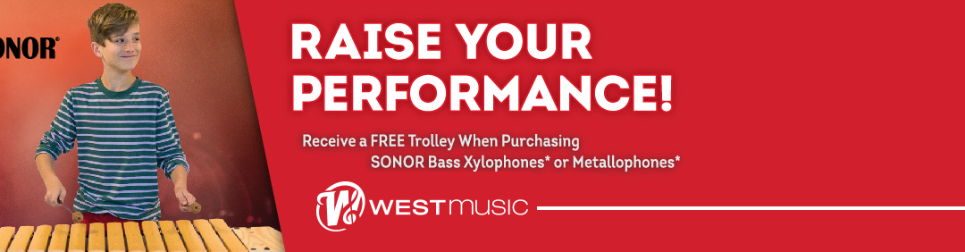 Go Mobile With A Free Orff Trolley from Sonor