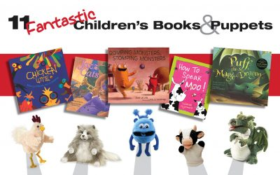11 Fantastic Children's Book and Puppet Combinations