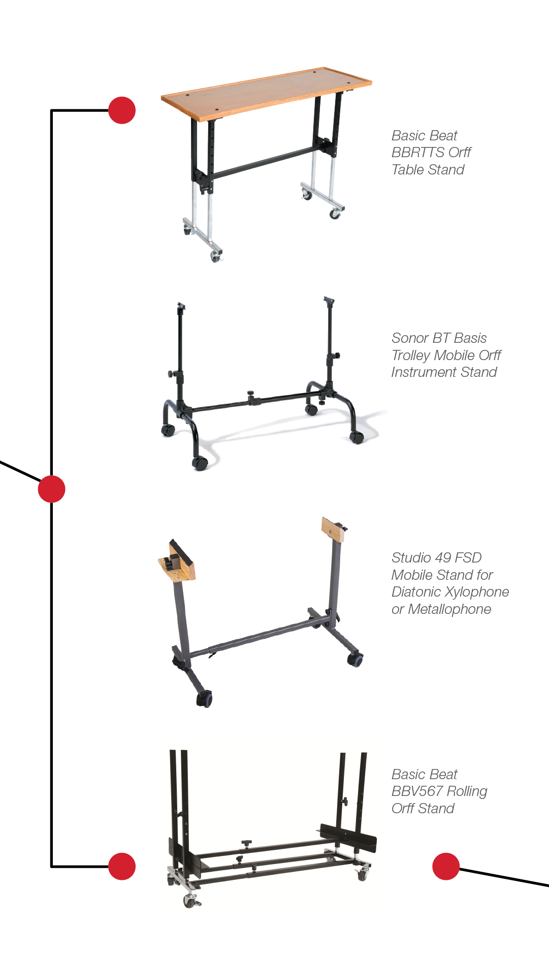 West Music Orff Instrument Stands